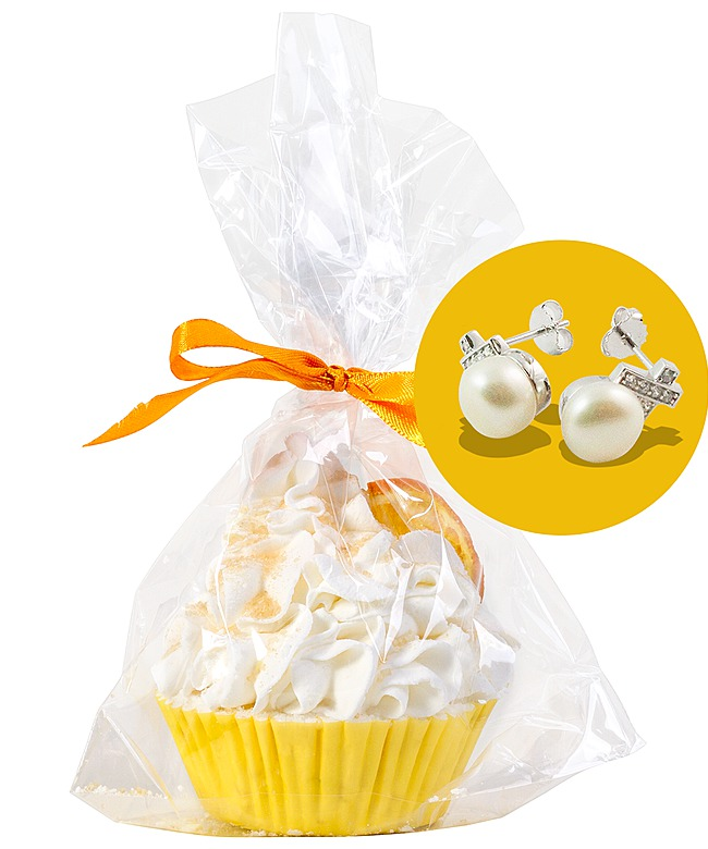 JewelBath Orange Ice Cream - Cupcake - jetzt bestellen bei Valentins ...